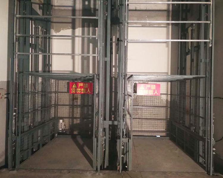 导轨式升降货梯的作用